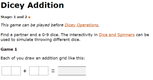dicey-addition